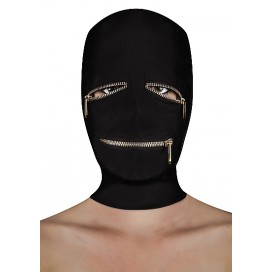 Ouch! Extreme Zipper Mask with Eye and Mouth Zipper