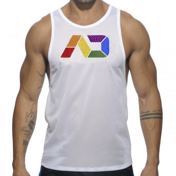 Débardeur AD Rainbow Blanc