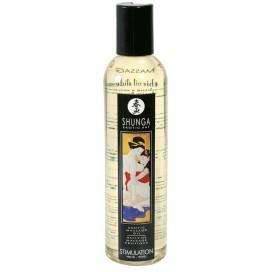 Huile de massage Shunga Erotic Pêche - 250 ml
